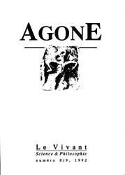 Agone 8 et 9