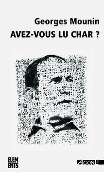 Avez-vous lu Char ?